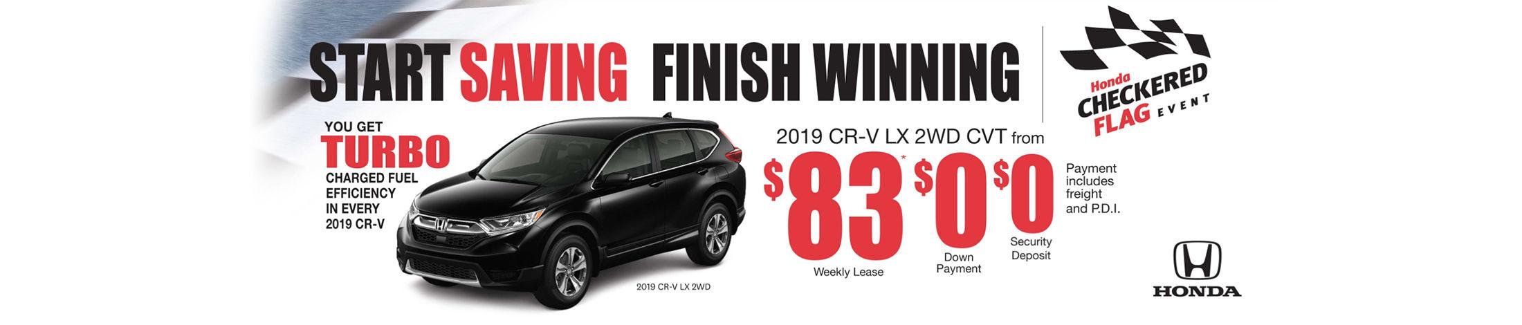 2019 Honda CR-V offer