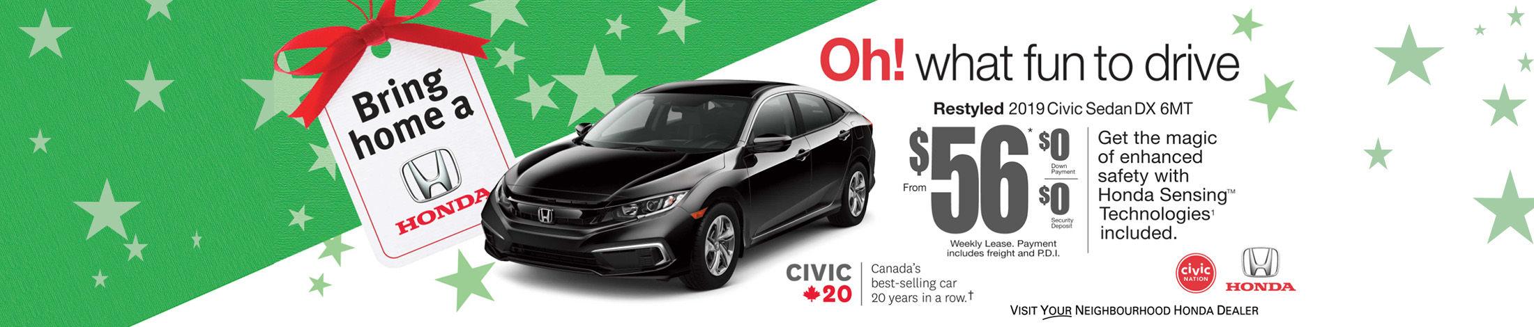 Bring home a Honda (Copy)
