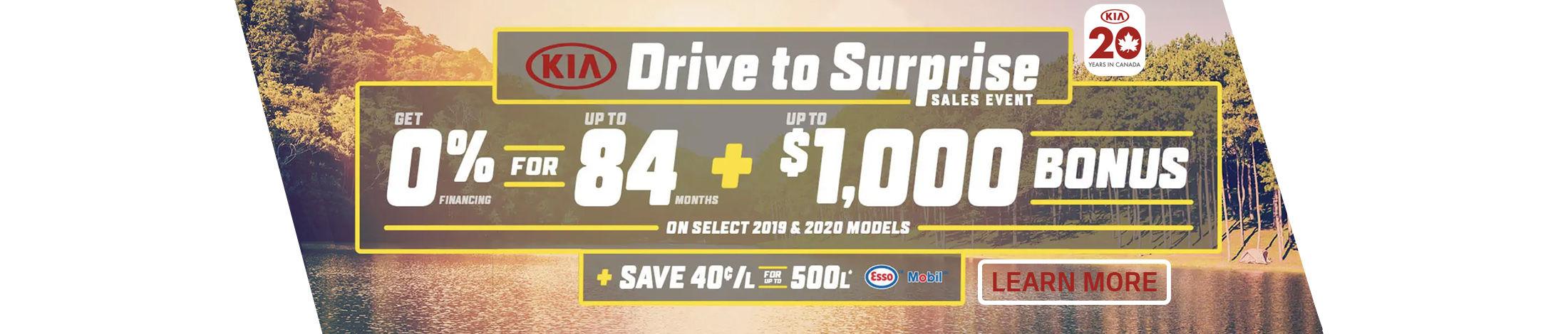 Kia Drive to surprise