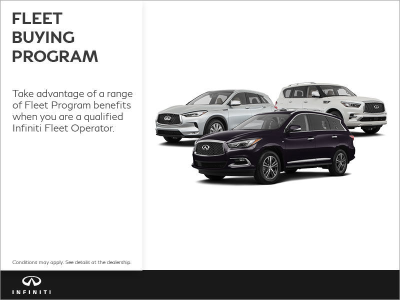 Infiniti Fleet Buying Program