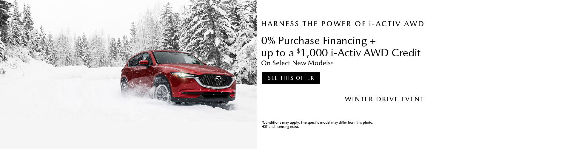 Mazda Winter Drive Event