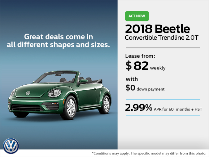 Get the 2018 Beetle Convertible Today