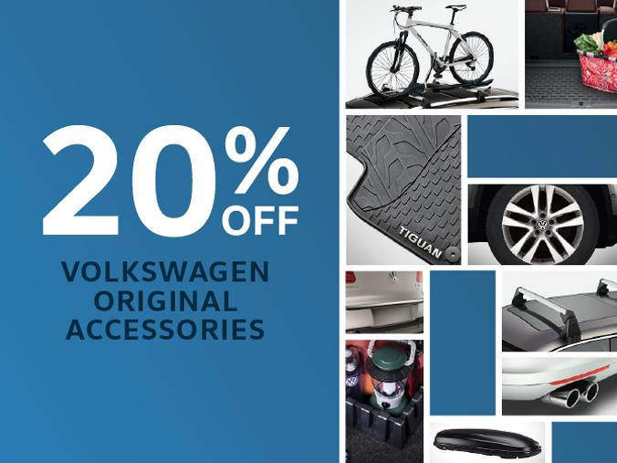 20% off Volkswagen Accessories