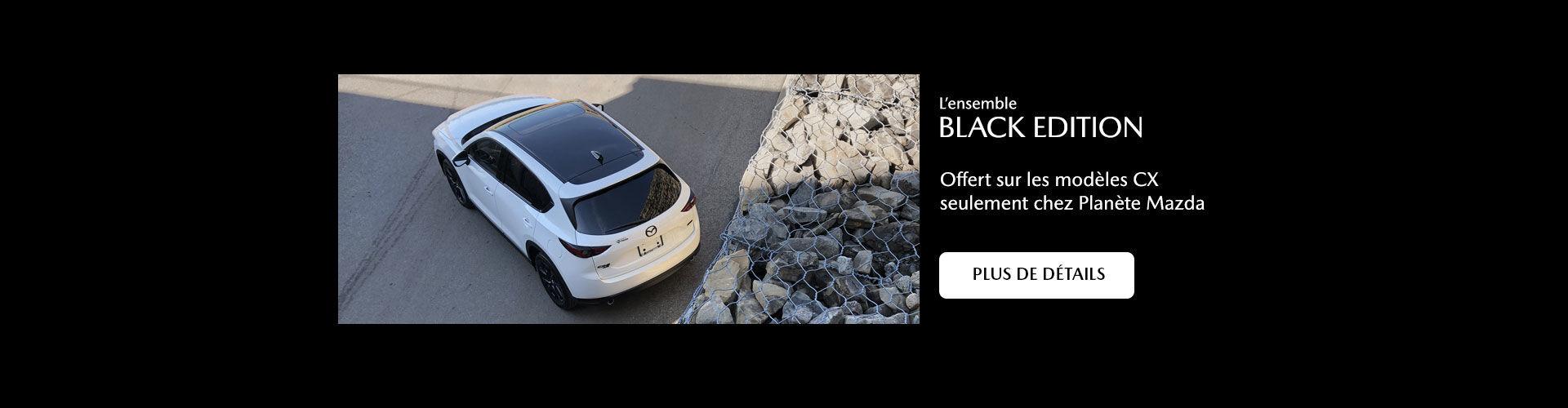 Planète Mazda Black Edition