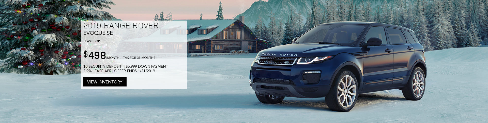 January Evoque Offer
