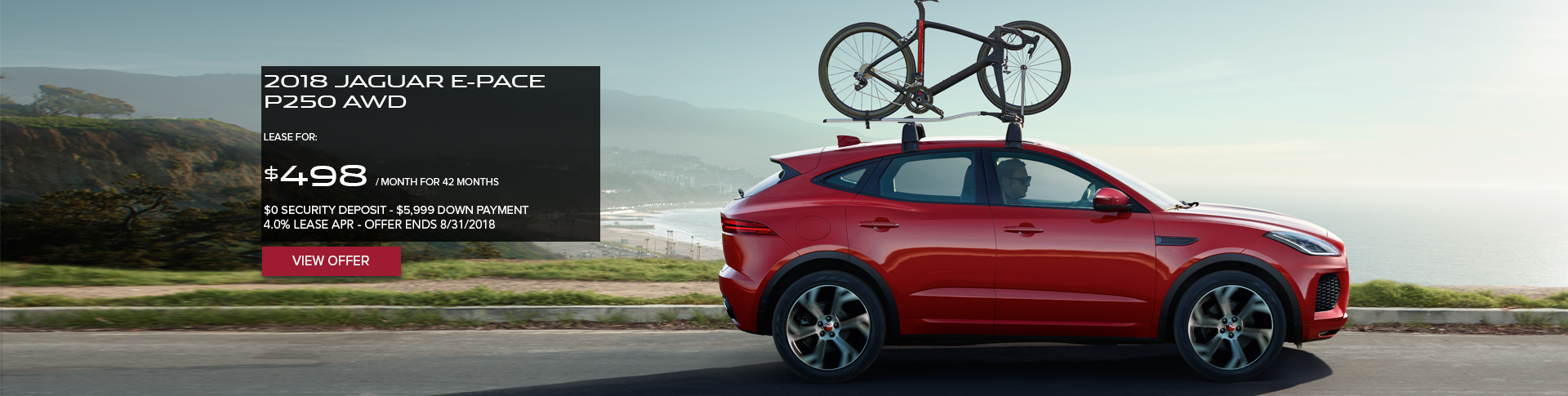 August 2018 E-PACE Offer