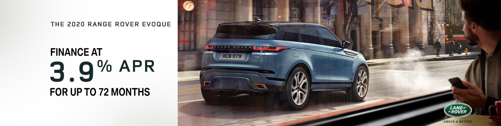 The 2020 Range Rover Evoque