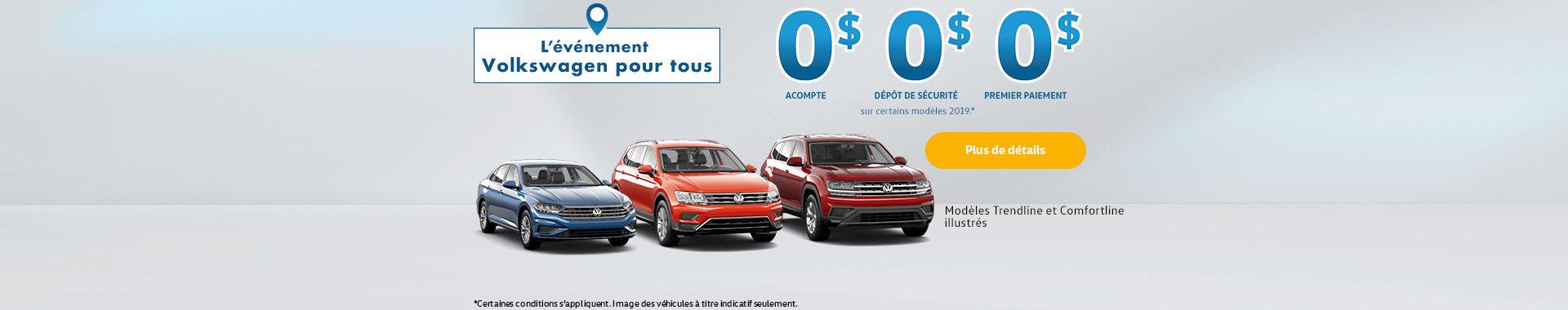 Volkswagen événement pour tous