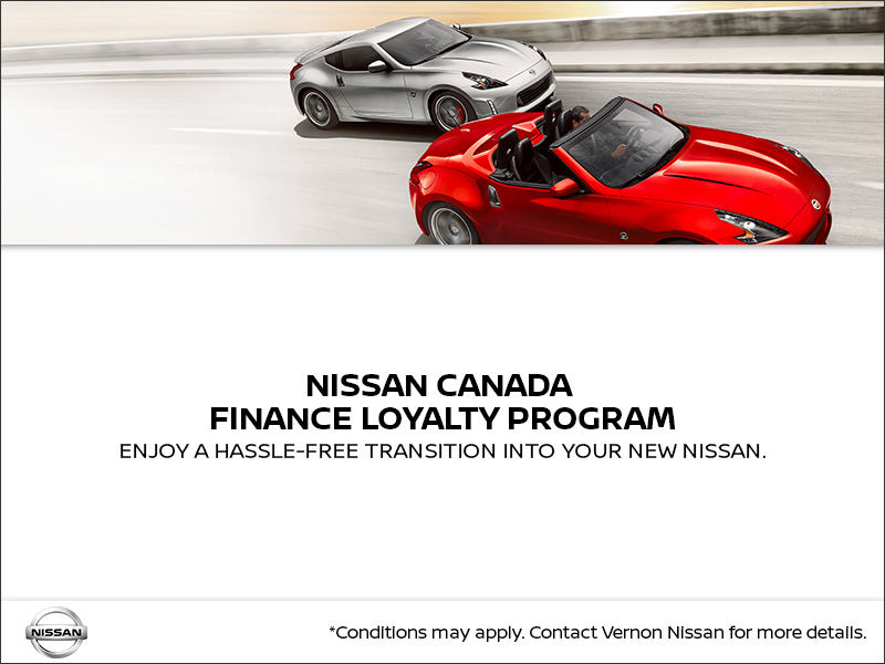 Nissan Canada Finance Loyalty Program