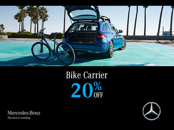 Kelowna Mercedes Benz Bike Carrier Special