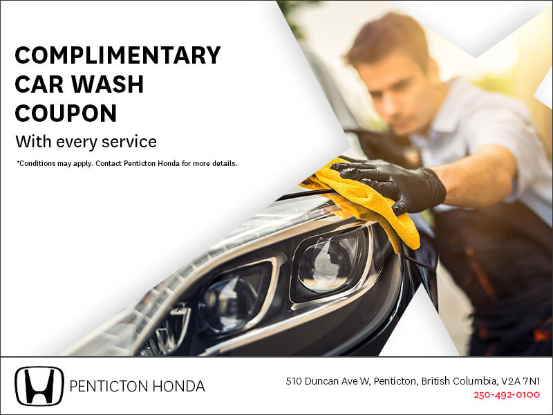 Complimentary Car Wash