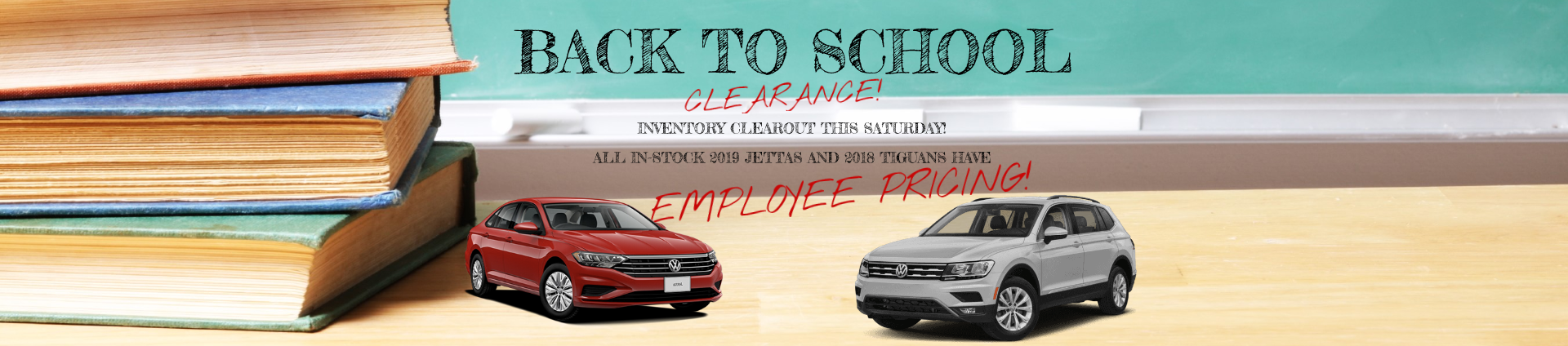Back to School Clearance Event