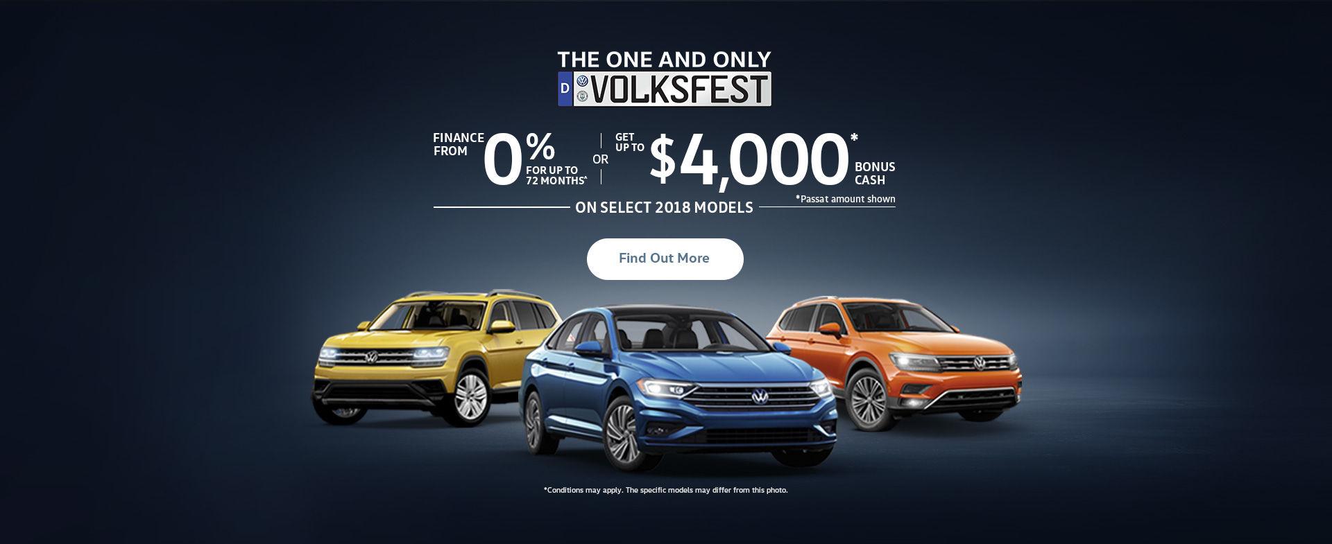 The Volkswagen Monthly Sales Event! (QC)