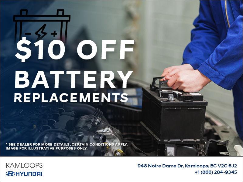 Kamloops Hyundai Battery Replacement Rebate