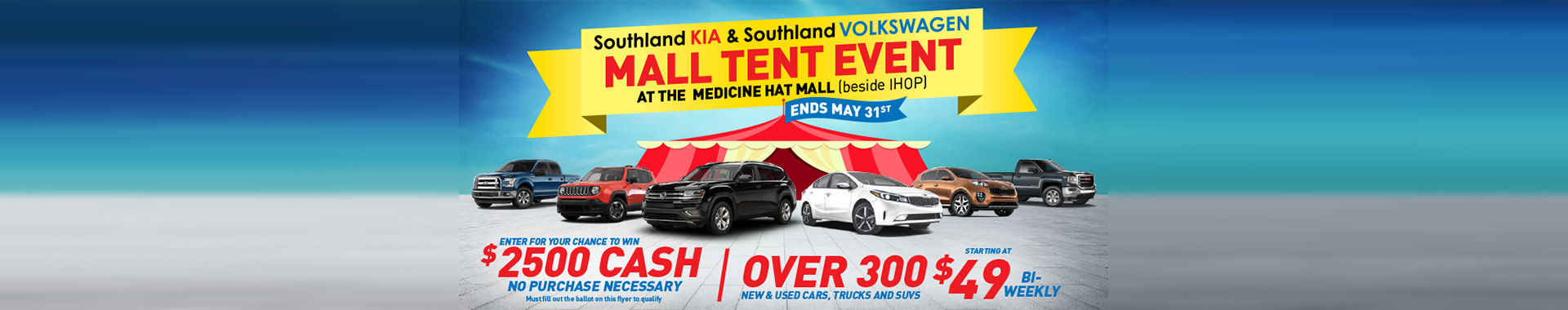 Mall Tent Sale 2018