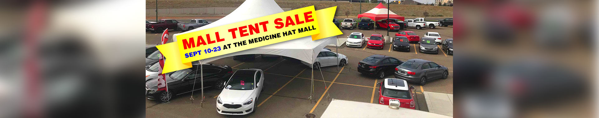 September Mall Tent Sale