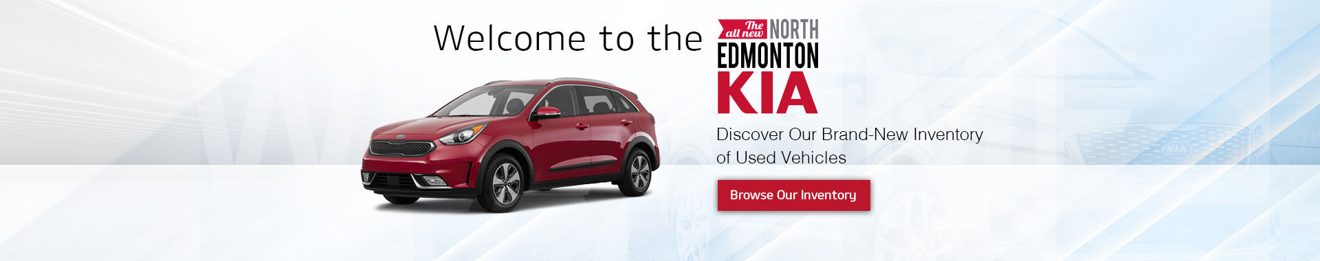 Welcome to the All-New North Edmonton Kia