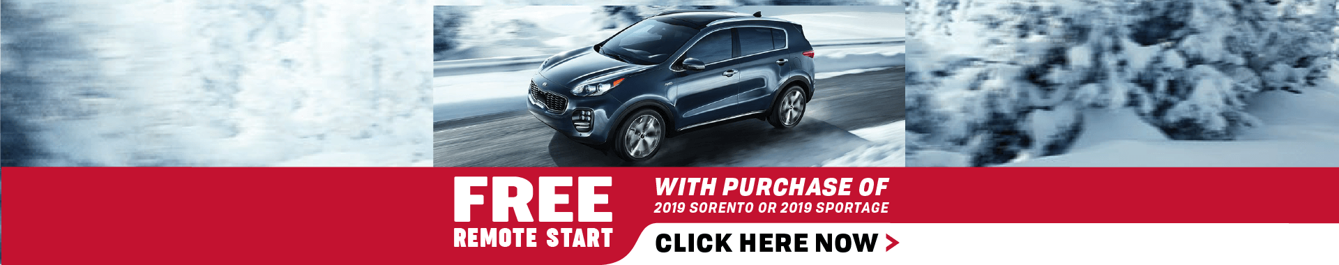 Free Remote Start with Puchase!