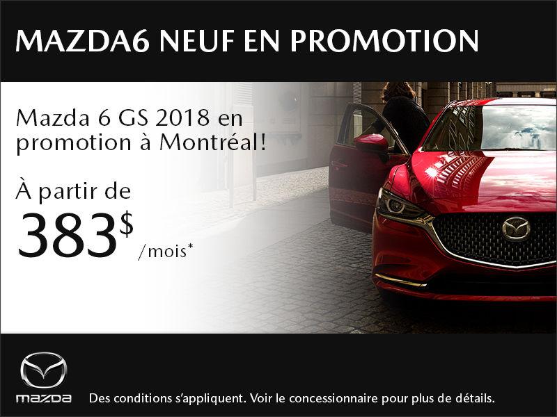 Mazda6 neuf en promotion à Montréal