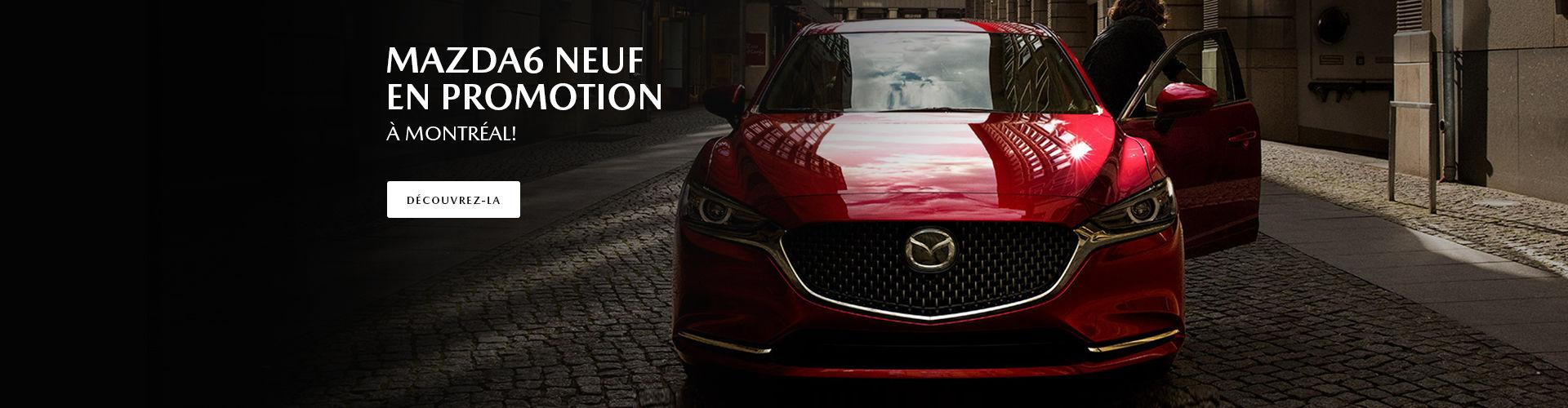 Mazda6 neuf en promotion