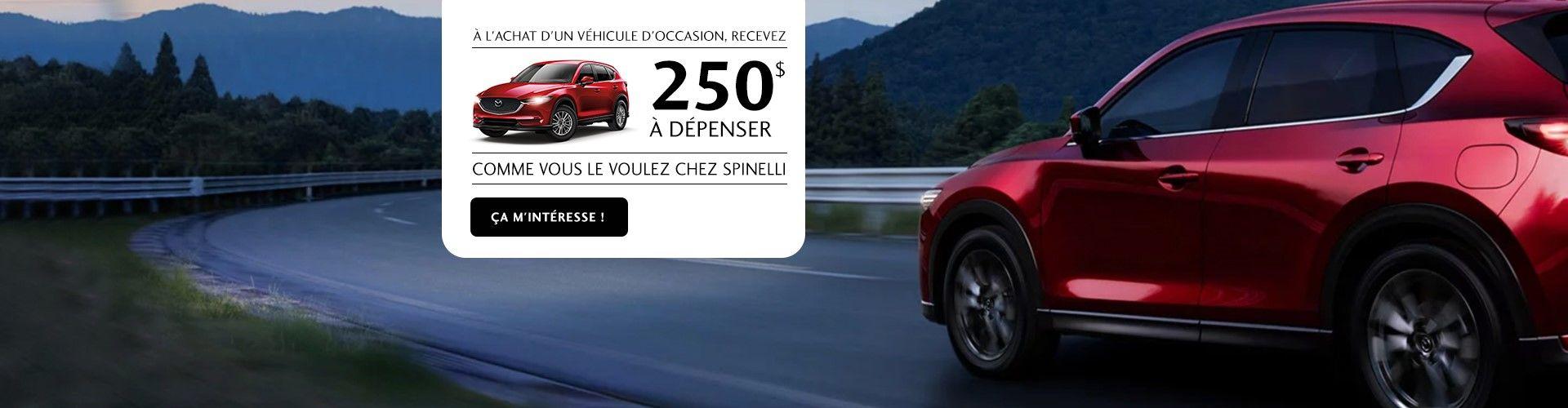 Mazda occasion 250$