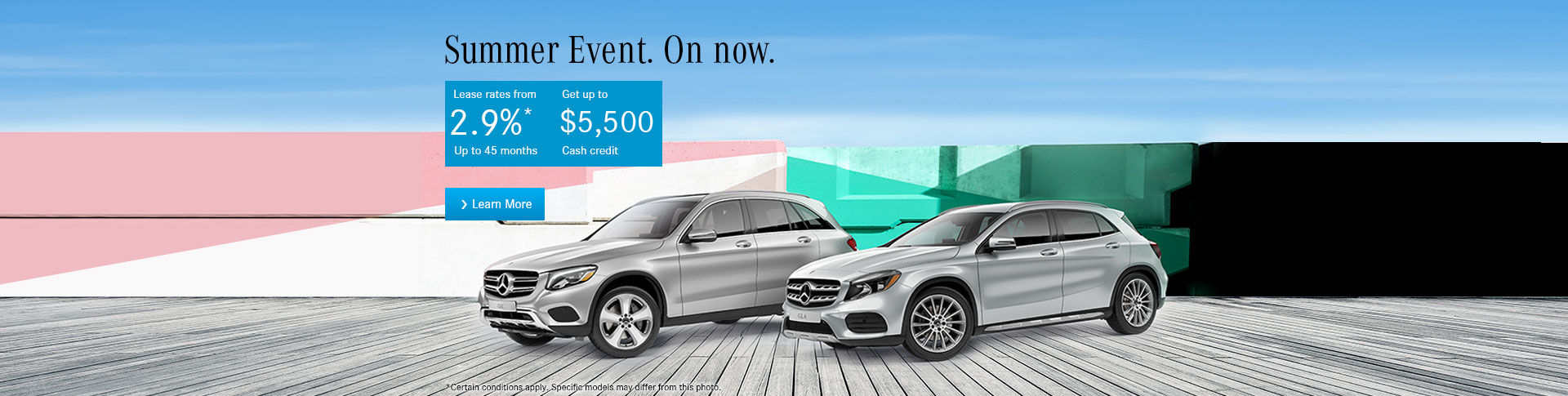 Mercedes-Benz Summer Sales Event