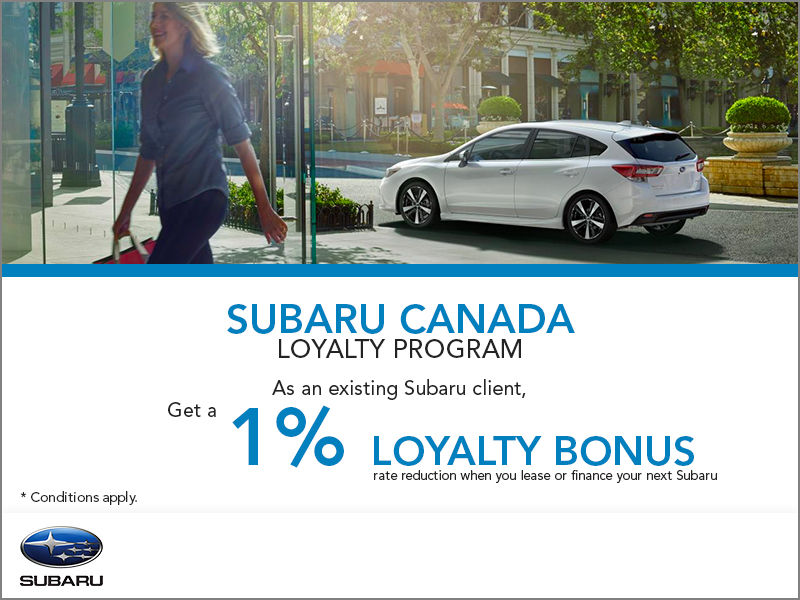 Subaru Loyalty Program