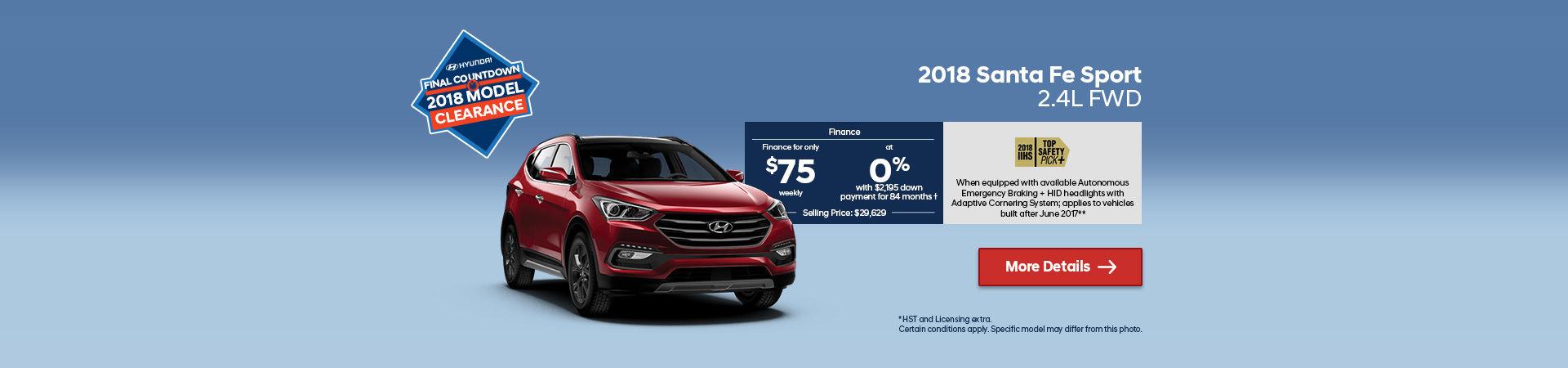 2018 Hyundai SantaFe