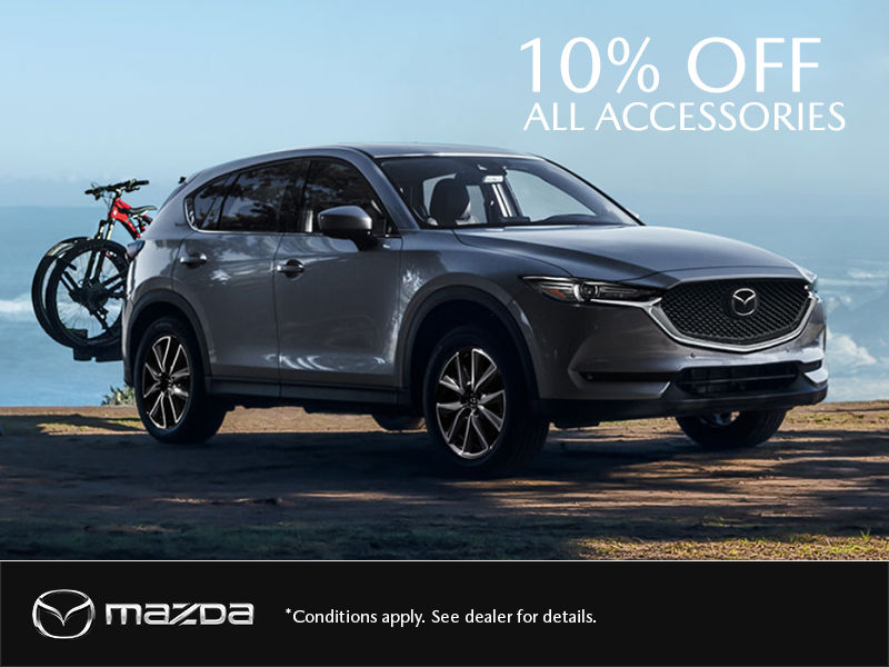 Get 10% OFF All Mazda Accessories