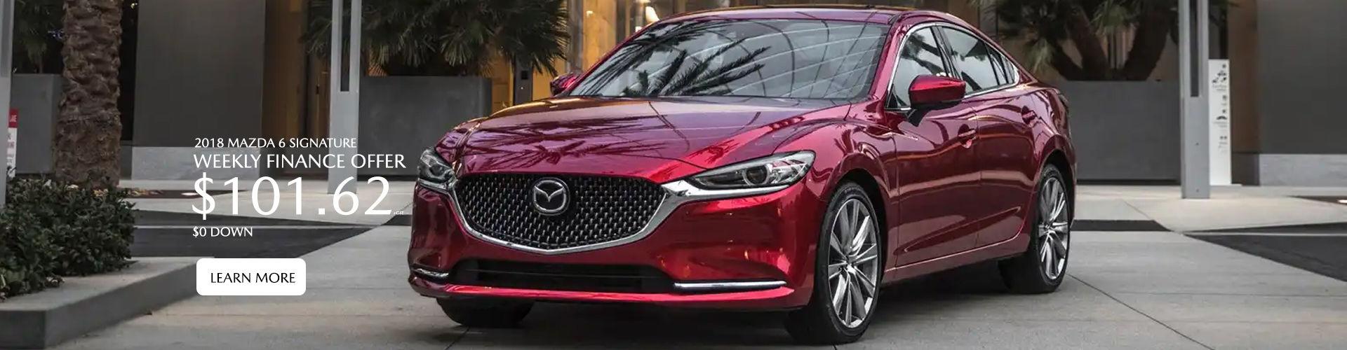 2018 Mazda 6 Final Clearance