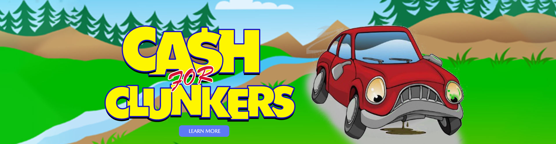Cash for Clunkers Slider