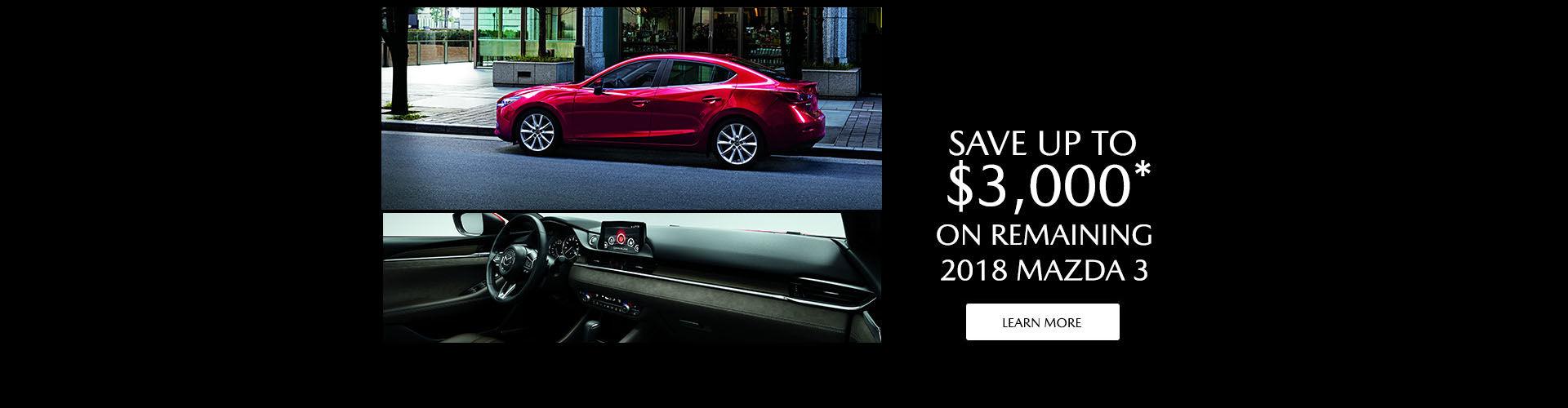 2018 Mazda Clearance