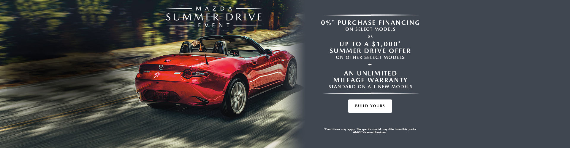 The Summer Drive Event - Header