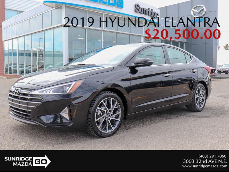 Get a 2019 Hyundai Elantra Today!
