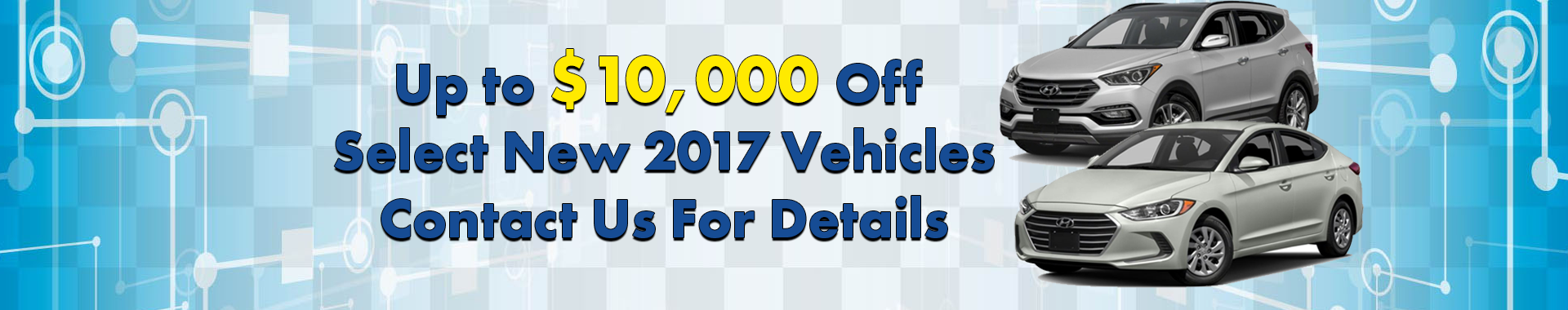 $10,000 Off Select 2017