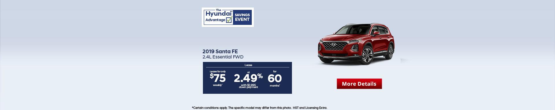 Hyundai Santa Fe - Header
