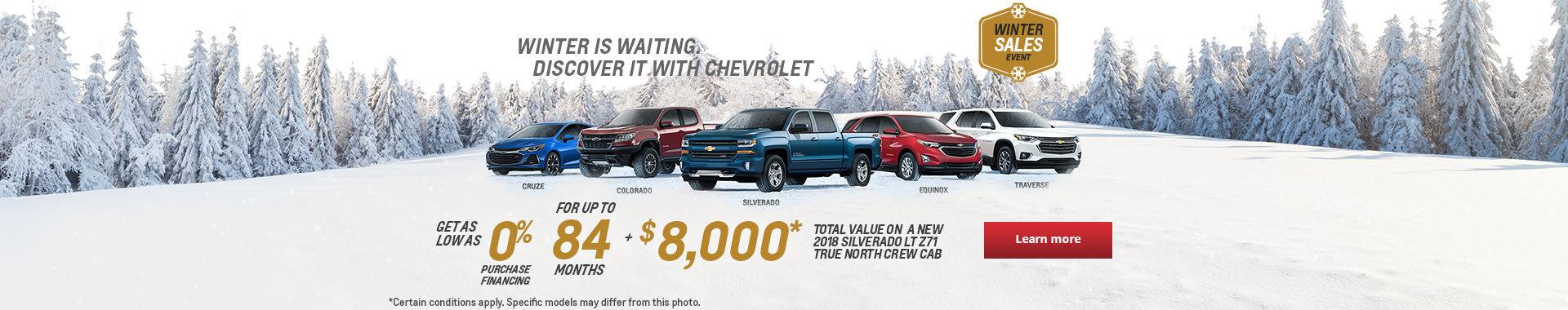 Winter Sales Event!