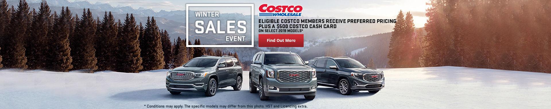 GMC's Costco sale
