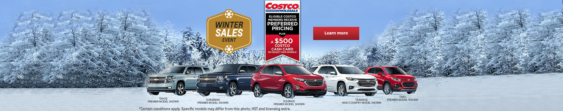 Chevrolet Costco Event - Header