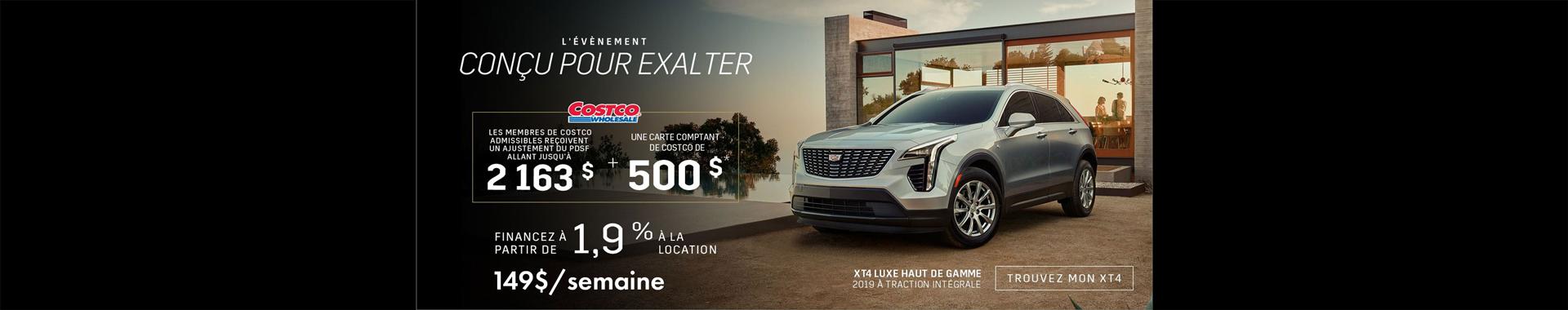 Cadillac XT4 - Aout 2019