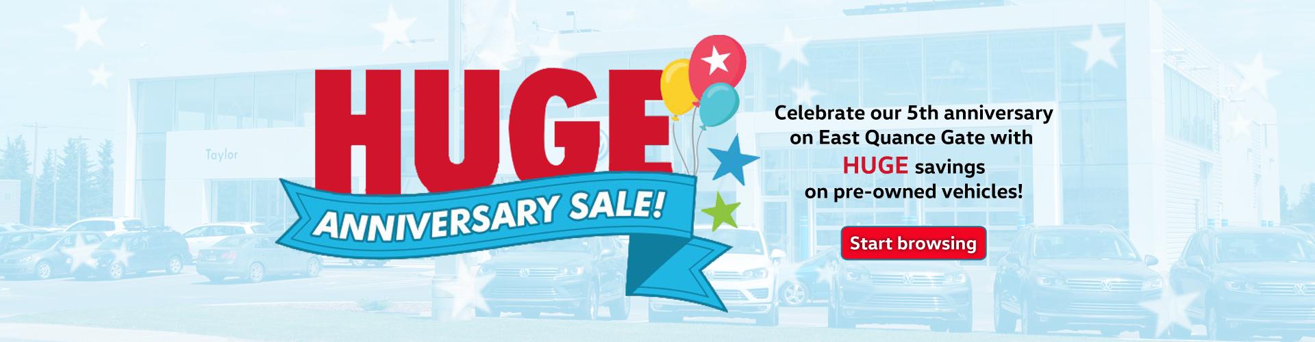 HUGE Anniversary Sale