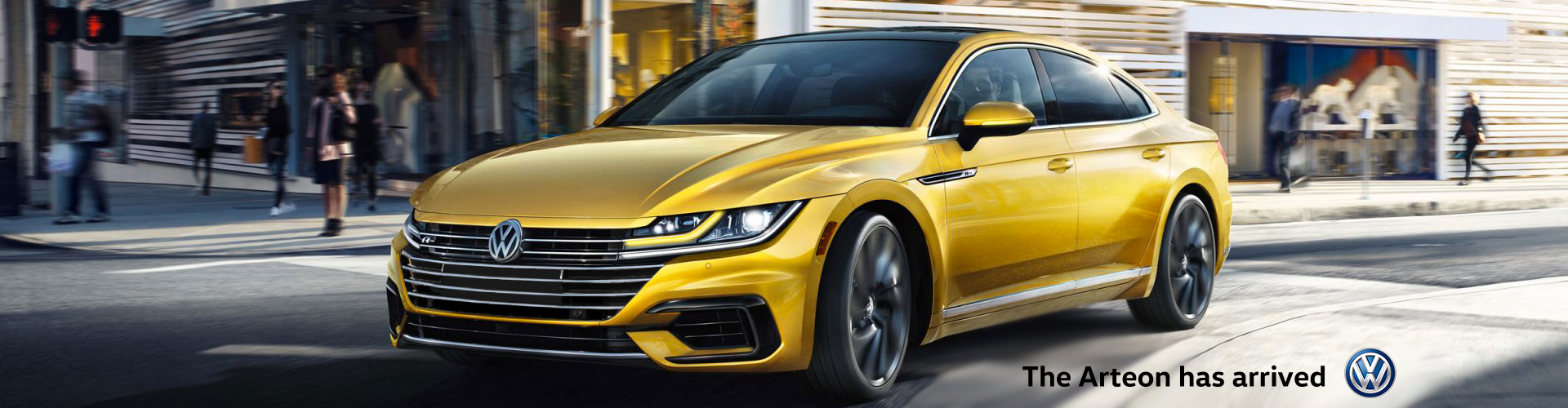 Arteon has arrived