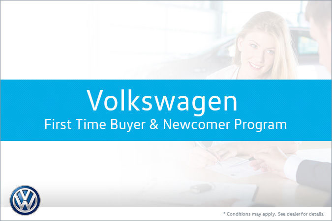 First time buyer newcomer program volkswagen midtown for First time home buyer plan