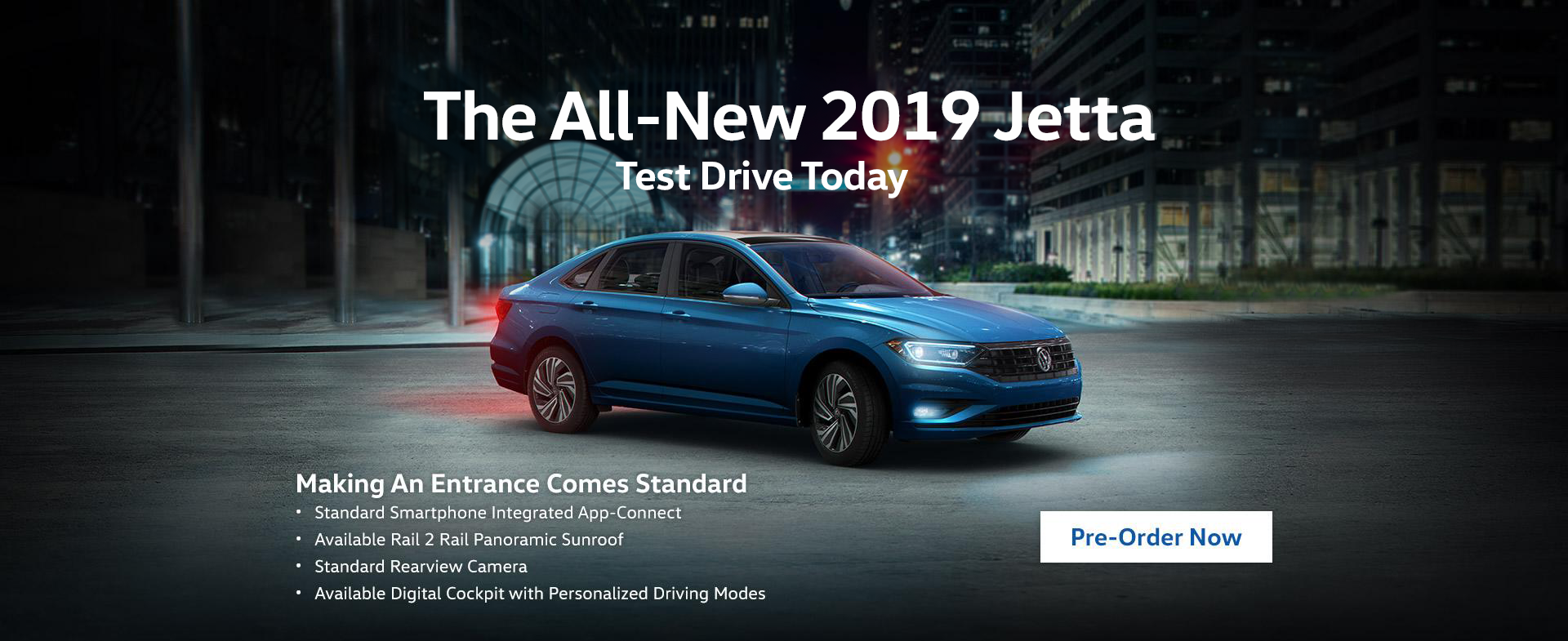 Pre-Order the 2019 Jetta at Humberview