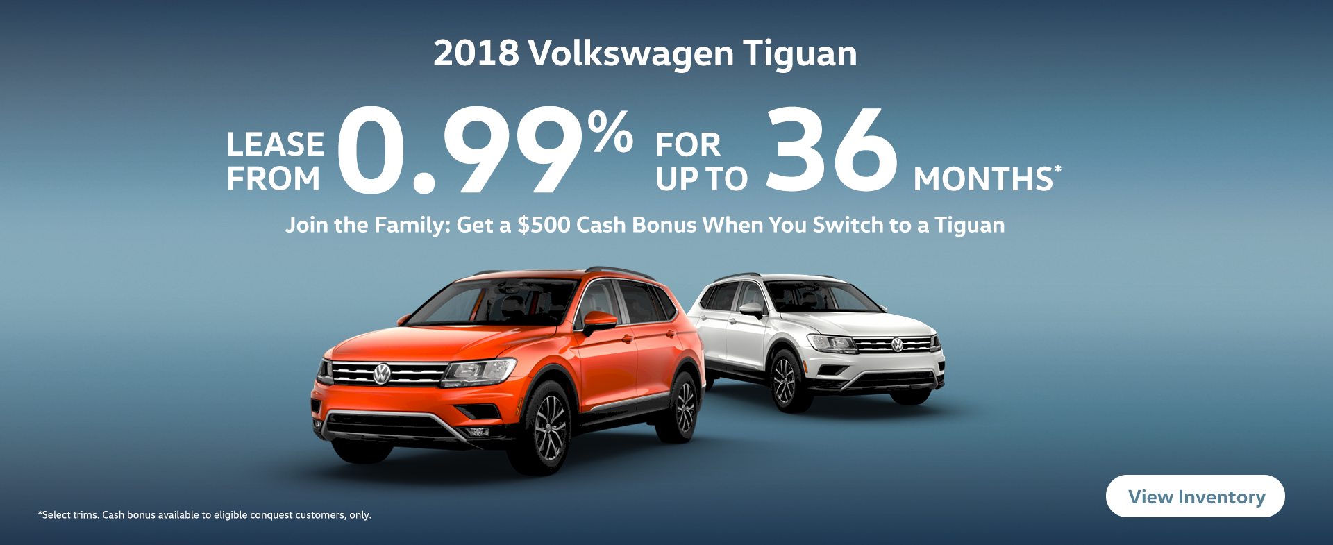 Shop June Tiguan Offers