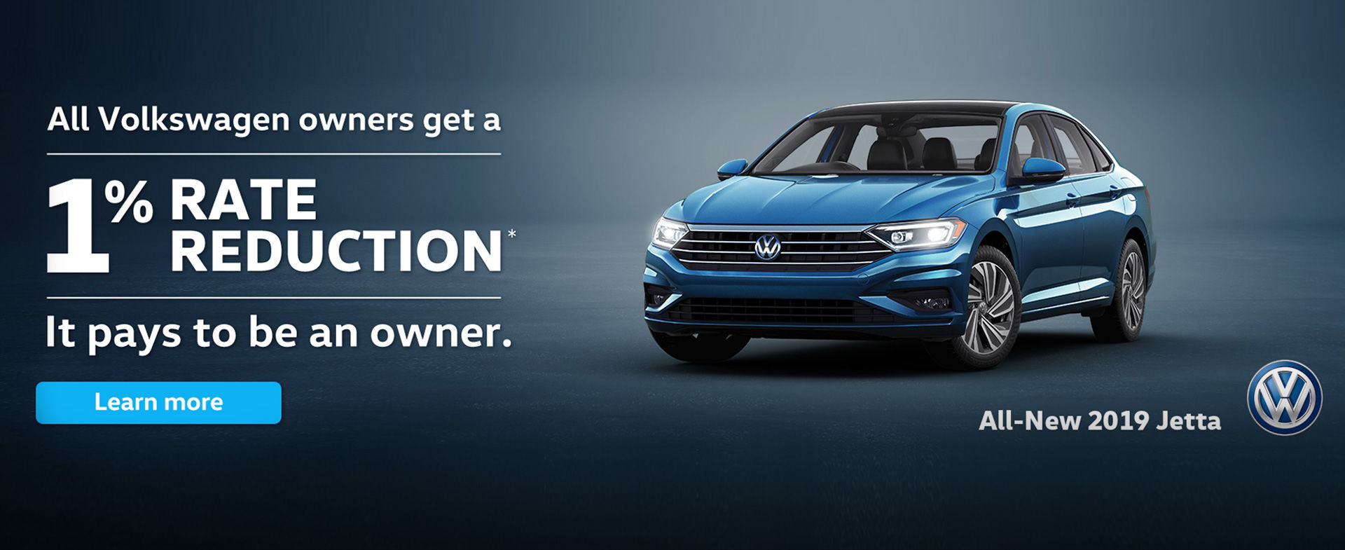 1% Rate Reduction on Jetta - November