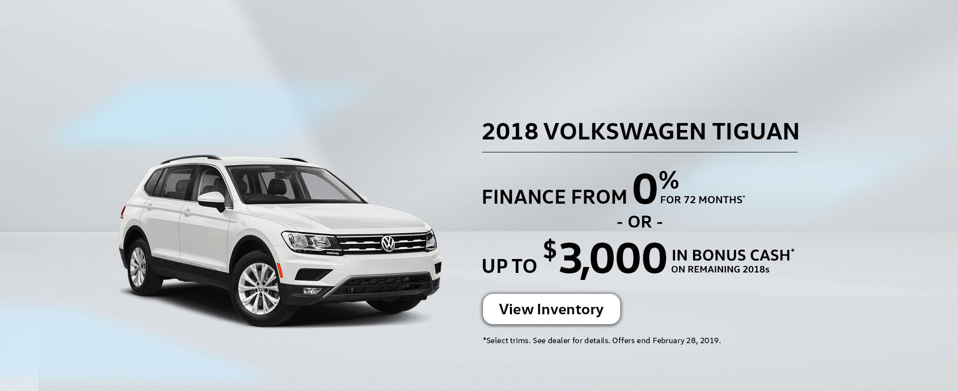 February Offers - Tiguan