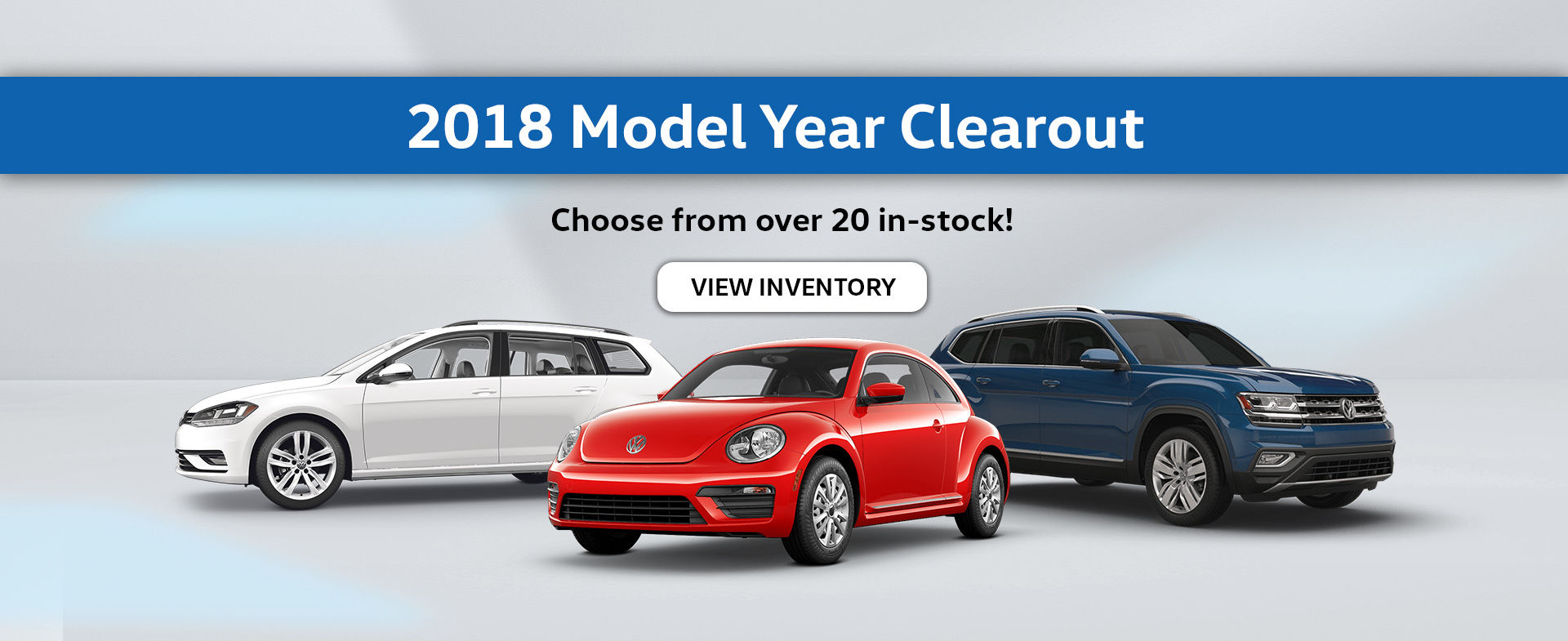 2018 Model Year Clearout