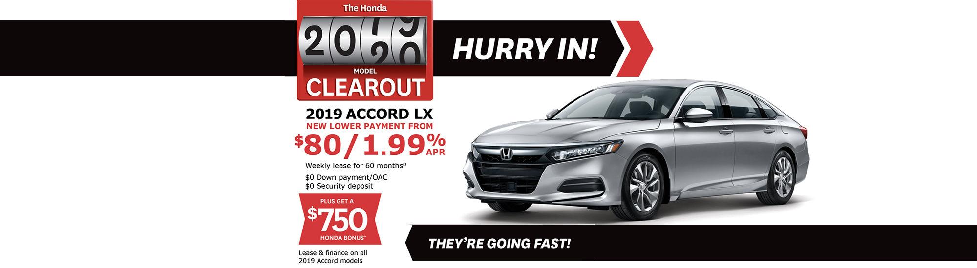 Promo august Accord Honda