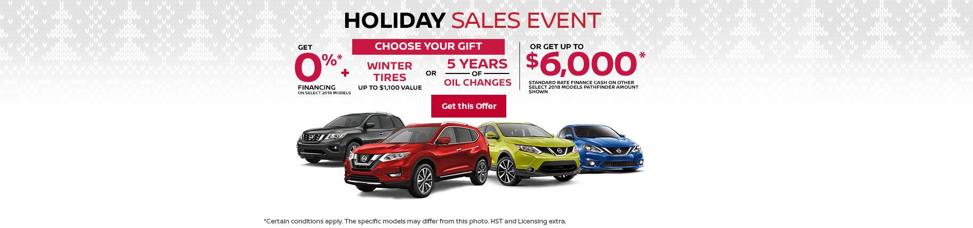 Nissan event - headers